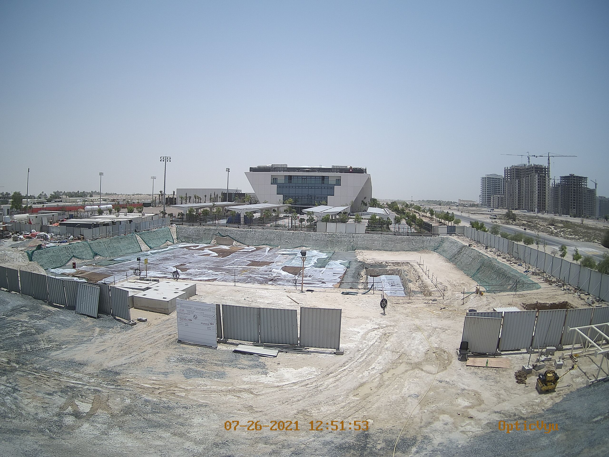 apcrda project office construction cam image