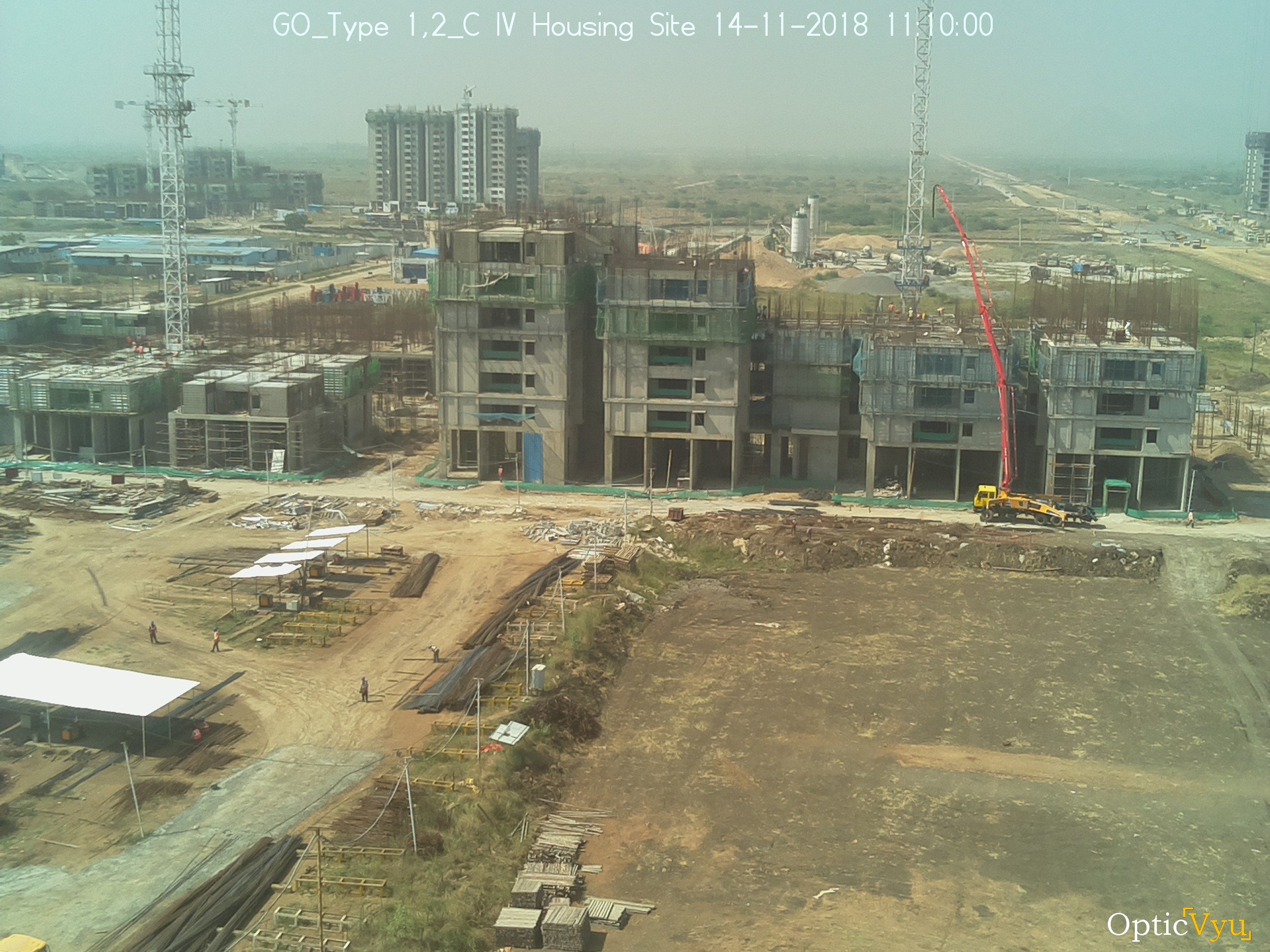 GO Type Housing Site Construction Camera Picture